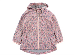 Wheat softshell jacket Gilda eggshell flowers