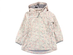Wheat softshell jacket Gilda poppy flowers