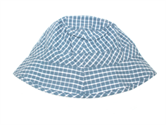 Wheat sun hat blue