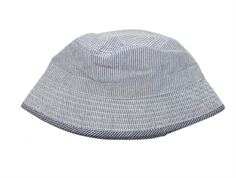 Wheat sun hat denim blue