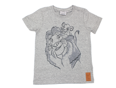 Wheat t-shirt Lion family melange gray