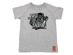 Wheat t-shirt angry Hulk melange gray