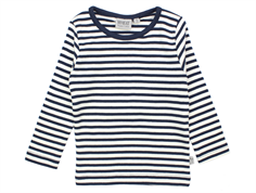 Wheat Wagner t-shirt navy