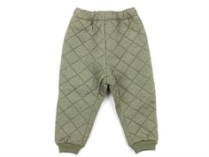 Wheat thermal trousers Alex green melange