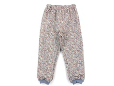Wheat thermal trousers Alex dusty dove flowers