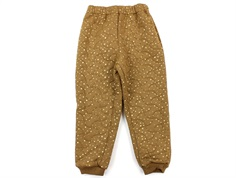 Wheat thermal trousers Alex caramel dot