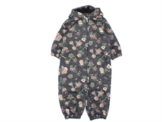 Wheat thermal suit Harley charcoal flower