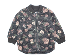 Wheat thermosjacket Loui charcoal flower