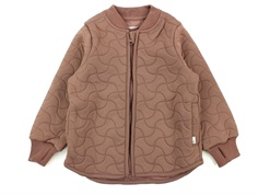 Wheat thermal jacket Loui dusty rouge