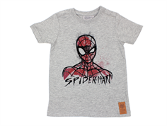 Wheat t-shirt Spiderman melange gray