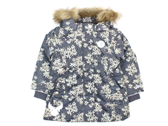Wheat winter jacket Edy steel flower
