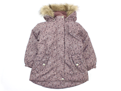 Wheat winter jacket Mona dusty rouge flower