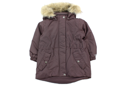 Wheat winter jacket Mona eggplant