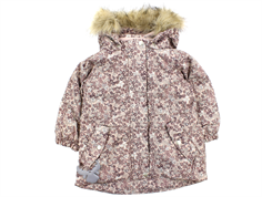Wheat winter jacket Mona rose flower powder