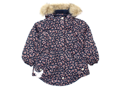 Wheat winter jacket Tusnelda navy flower