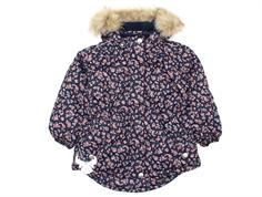 92ab240b2161 Wheat winter jacket Tusnelda navy flower
