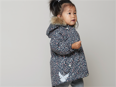 Wheat winter jacket Mona navy flower