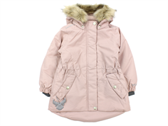 Wheat winter jacket Mona rose powder solid color