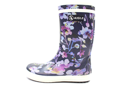 Aigle Lolly Pop rubber boot dark flower