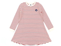 Wood Wood dress Aya off-white/red stripes