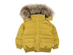 Mini A Ture winter jacket Wotan Fur dried tobacco