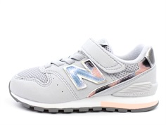 New Balance sneaker gray/silver with Velcro