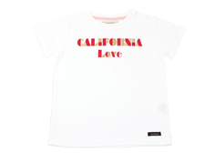 A Monday T-shirt California white
