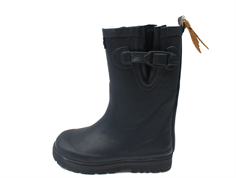 Aigle Woodypop winter rubber boot marine with lining