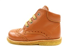 Angulus toddler shoe cognac with laces