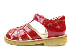 Angulus sandal red lacquer with heart