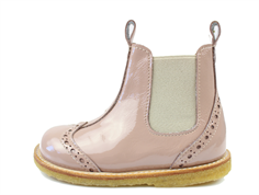 Angulus ancle boot rose with lacquer