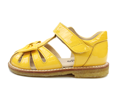 Angulus sandal yellow with bow