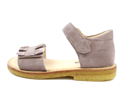 Angulus sandal dusty lavender with frill