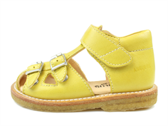 Angulus sandal yellow with buckles and velcro