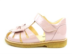 Angulus sandal pale rose varnish with bow