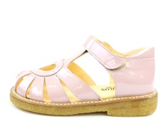 Angulus sandal pale rose lacquer with heart