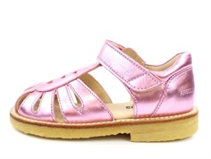 Angulus sandal pink shine with hearts