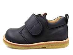 Angulus shoes black/cognac with velcro