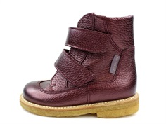 Angulus winter boot bordeaux shine with TEX (narrow)
