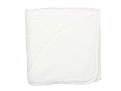 Cam Cam baby towel hooded off-white