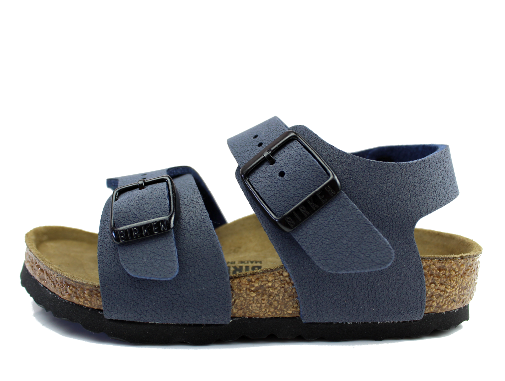 Buy birkenstock new york sandal navy at milkywalk for Birkenstock new york
