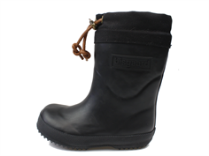 Bisgaard winter rubber boot black with wool lining