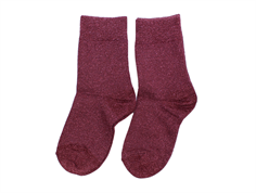 MP socks cotton purple glitter (2-Pack)