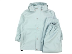 En Fant rainwear pants and jacket blue surf