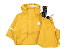 CeLaVi rainwear pants and jacket mineral yellow
