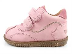 Bundgaard Smila shoes old rose with velcro