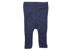 Joha leggings navy wool/silk