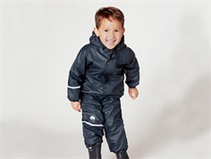 CeLaVi rainwear fleece pants and jacket navy