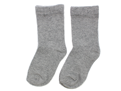 MilkyWalk socks cotton grey melange (4-pack)