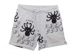 Mini Rodini Shorts octopus gray
